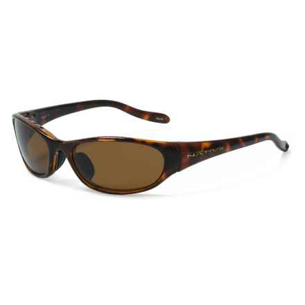 Native Eyewear Ripp Sunglasses - Polarized in Maple Tortoise/Brown - Closeouts