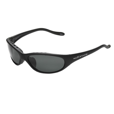 Native Eyewear Ripp XP Sunglasses - Polarized (For Men) in Asphalt/Grey