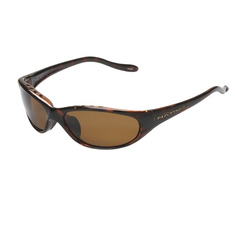 Native Eyewear Ripp XP Sunglasses - Polarized (For Men) in Maple Tortoise/Brown