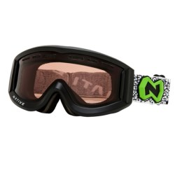 Native Eyewear Riva Polarized Snowsport Goggles in Asphalt/Amber
