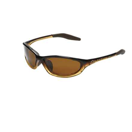 Native Eyewear Silencer Sunglasses - Polarized, Extra Lenses in Pale Ale Fade/Brown - Closeouts