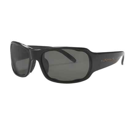 Native Eyewear Solo Sunglasses - Polarized in Iron/Grey - Closeouts