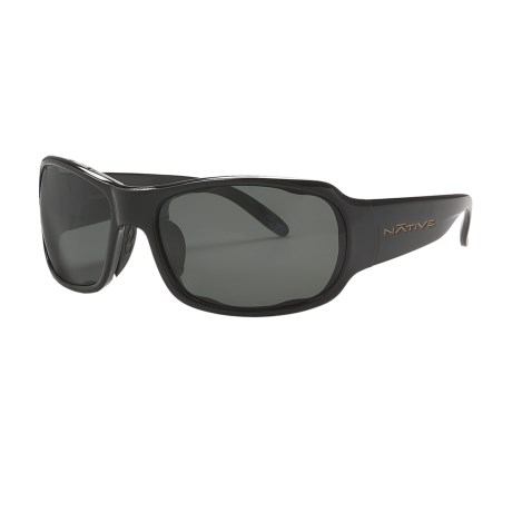 Native Eyewear Solo Sunglasses - Polarized in Iron/Grey