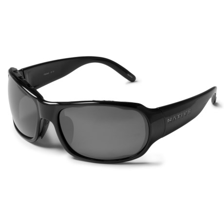 Native Eyewear Solo Sunglasses Polarized Reflex Lenses (For Women)