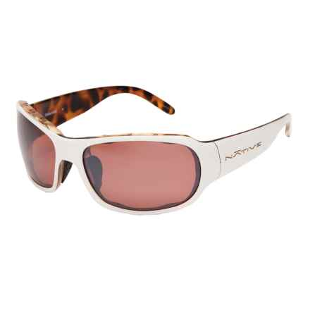 Native Eyewear Solo Sunglasses - Polarized Reflex Lenses (For Women) in Sahara Snow/Copper Reflex - Closeouts