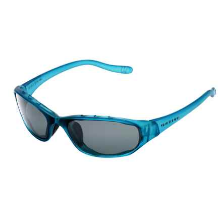 Native Eyewear Throttle Sunglasses - Polarized in Glacier Frost/Gray - Overstock
