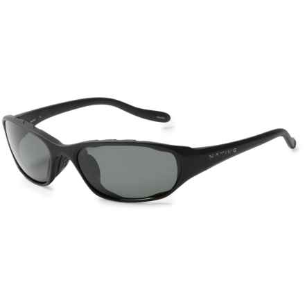 Native Eyewear Throttle Sunglasses - Polarized in Matte Black/Gray - Closeouts
