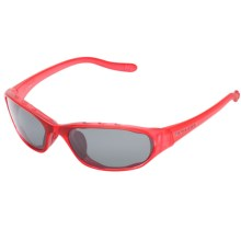 Native Eyewear Throttle Sunglasses - Polarized in Red Frost/Gray - Closeouts