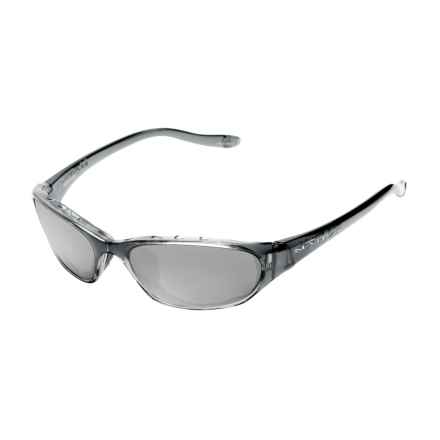Native Eyewear Throttle Sunglasses - Polarized in Smoke/Silver Reflex - Closeouts