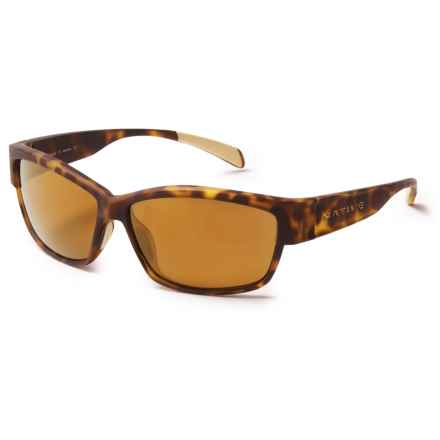Native Eyewear Toolah Sunglasses - Polarized Reflex Lenses in Desert Tortoise/Polarized N3 Bronze Reflex - Closeouts