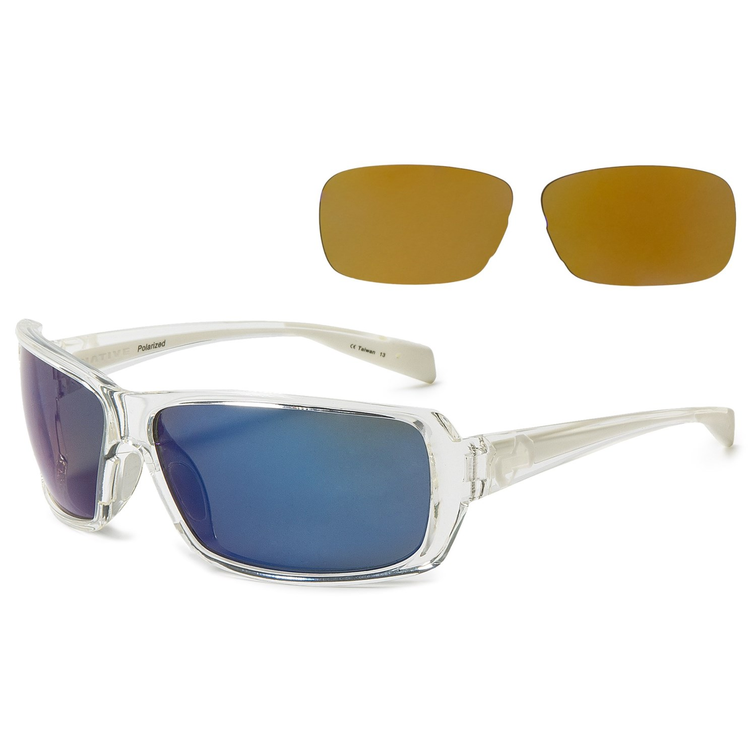 0649263afd Native Eyewear Trango Sunglasses - Extra Lenses in Crystal White. Click to  expand