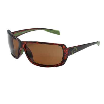 Native Eyewear Trango Sunglasses - Polarized in Maple Tortoise/Brown - Closeouts