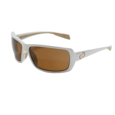 Native Eyewear Trango Sunglasses - Polarized in Snow/Brown - Closeouts