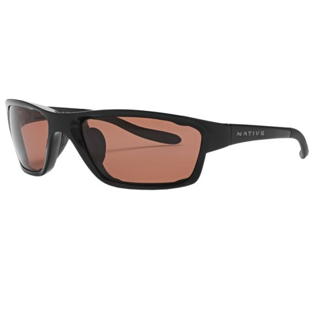 Native Eyewear Versa Sunglasses - Polarized, Interchangeable in Iron/Copper