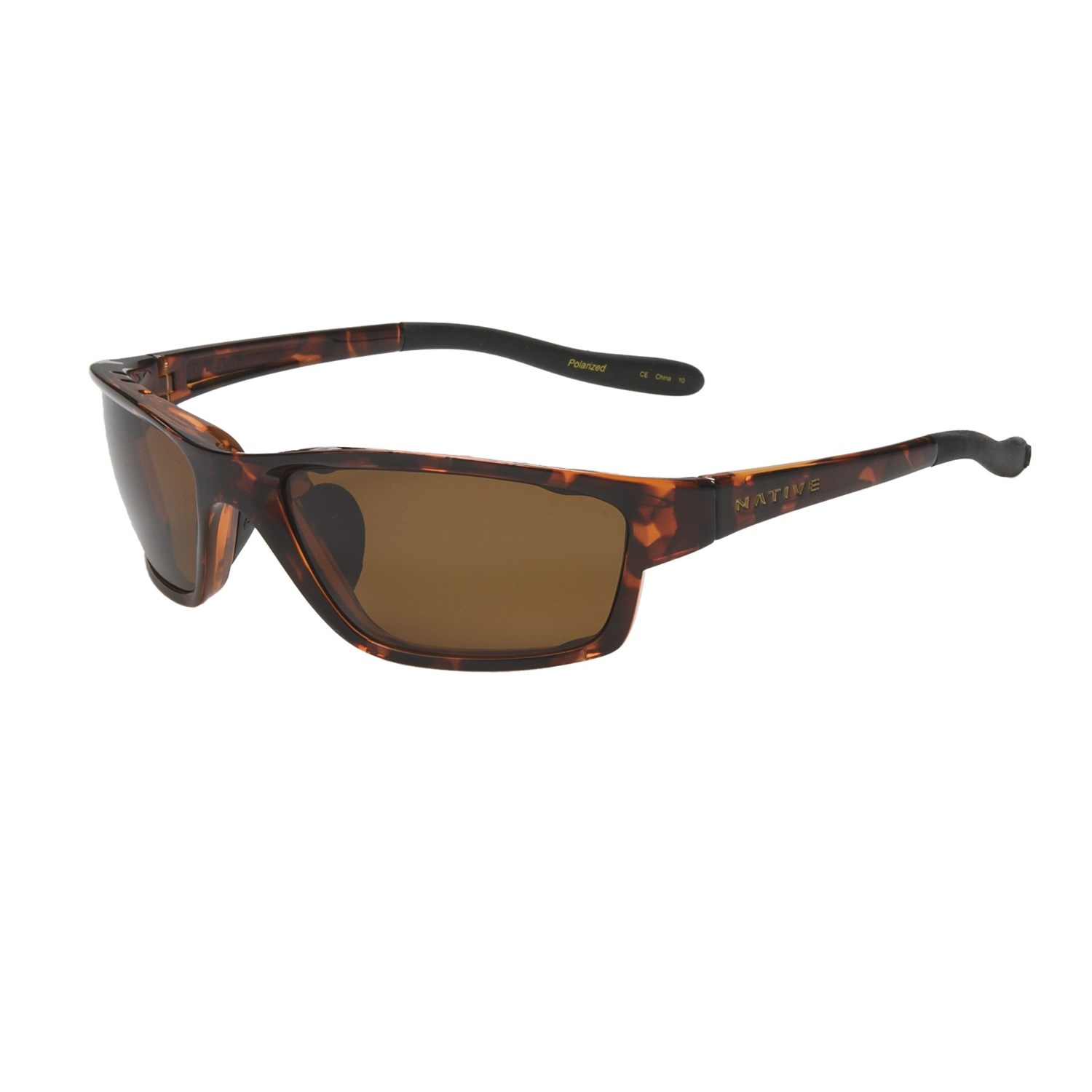 Native Versa Polarized Sunglasses - Maple Tortoise/Brown ...