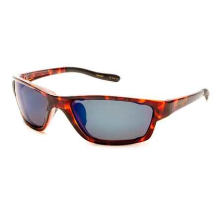 Native Eyewear Versa Sunglasses - Polarized Reflex Lenses, Extra Lenses in Maple Tortoise/Blue Reflex - Overstock