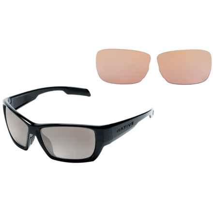 Native Eyewear Ward Sunglasses - Polarized, Extra Lenses in Iron/Silver Reflex - Closeouts
