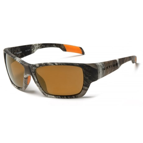 Native Eyewear Ward Sunglasses - Polarized, Extra Lenses in True Timber/Bronze Reflex