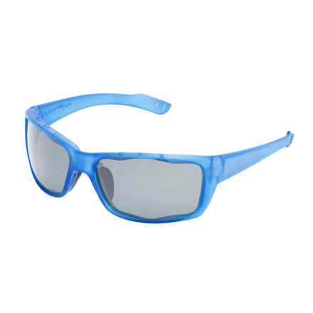 Native Eyewear Wazee Sunglasses - Polarized in Cobalt Frost/Gray - Overstock