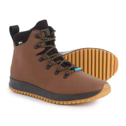 Native Shoes AP Apex Boots (For Men) in Brown - Closeouts
