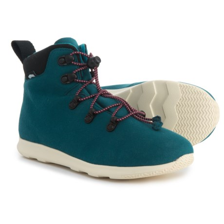 Native Shoes AP Apex Hiking Boots (For Boys) in Blue
