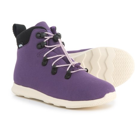 Native Shoes AP Apex Hiking Boots (For Girls) in Purple