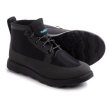 Native Shoes Fitzroy Boots (For Little and Big Kids) in Jiffy Black/Jiffy Black - Closeouts
