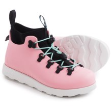 Native Shoes Fitzsimmons Shoes - Waterproof (For Little and Big Kids) in Princess Pink/Shell White - Closeouts
