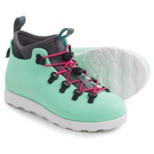 Native Shoes Fitzsimmons Shoes - Waterproof (For Little and Big Kids) in Yucca Blue/Shell White - Closeouts