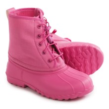 Native Shoes Jimmy Junior Rain Boots - Waterproof (For Big Kids) in Hollywood Pink - Closeouts