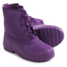 Native Shoes Jimmy Junior Rain Boots - Waterproof (For Big Kids) in Orchid Purple - Closeouts