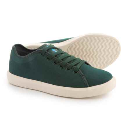 Native Shoes Monaco Low Canvas WX Sneakers (For Women) in Green - Closeouts