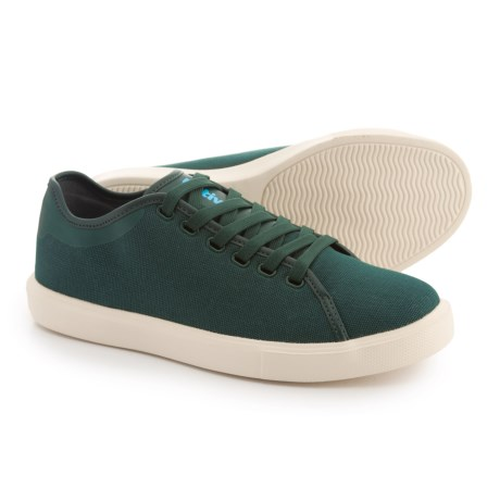 Native Shoes Monaco Low Canvas WX Sneakers (For Women) in Green