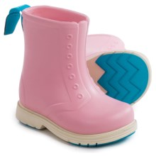 Native Shoes Sid Rain Boots - Waterproof (For Toddlers) in Princess Pink/Bone White - Closeouts