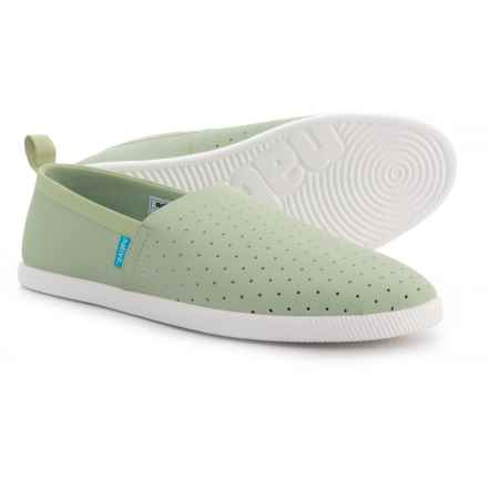 Native Shoes Venice Shoes - Slip-Ons (For Men) in Tea Green - Closeouts