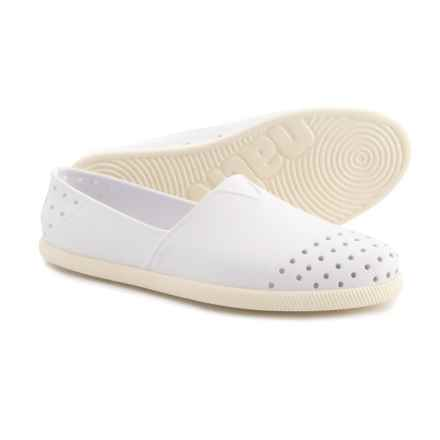 Native Shoes Verona Shoes - Slip-Ons (For Men and Women) in White - Closeouts