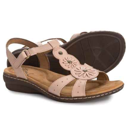 73754b23889b Natural Soul Barrol Sandals - Leather (For Women) in Mauve