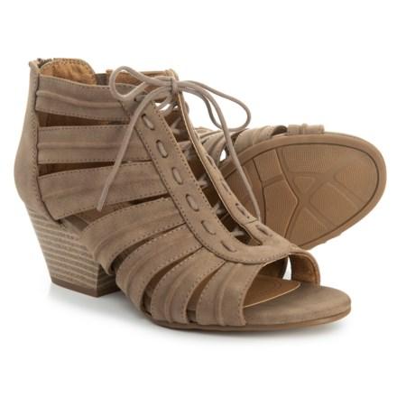 9af151dd9 Natural Soul Dante Sandals (For Women) in Mushroom Smooth