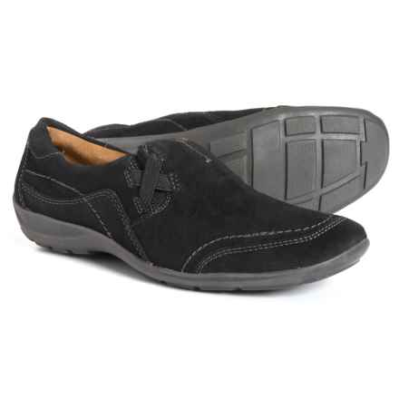 7e7160e7493 Natural Soul French Shoes - Suede (For Women) in Black