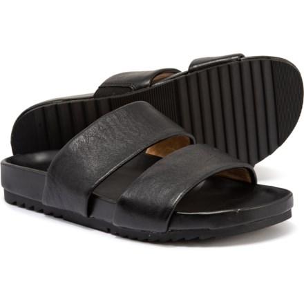 e7ae96e588 Naturalizer Amabella Slide Sandals - Suede (For Women) in Black