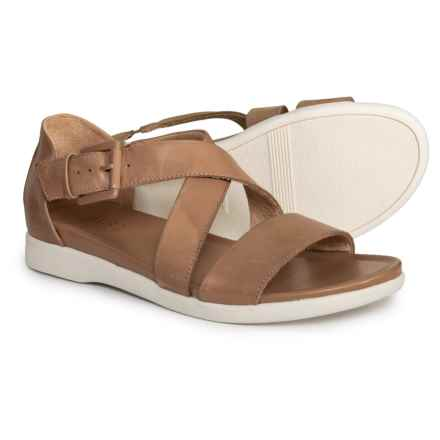 Naturalizer Elliott Sandals - Leather (For Women) in Toasted Barley Muted Leather