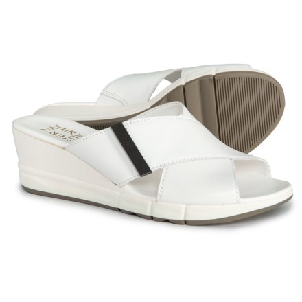 c1827c708adb Naturalizer Izzy Sandals - Leather (For Women) in White Leather