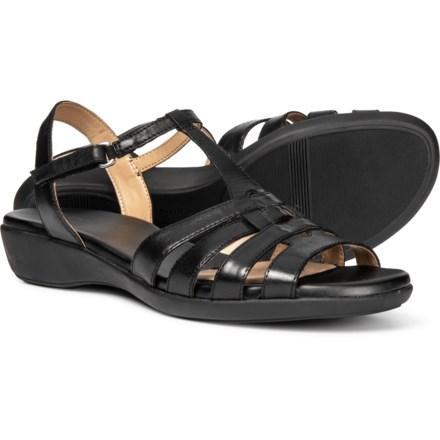 8d906b6c811f9 Naturalizer Nanci Sandals - Leather (For Women) in Black