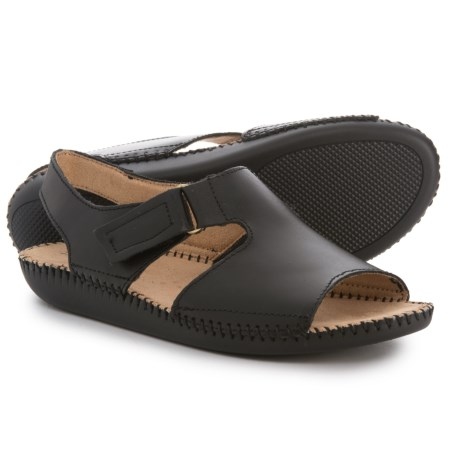 Naturalizer Scout Sandals - Leather (For Women) in Black
