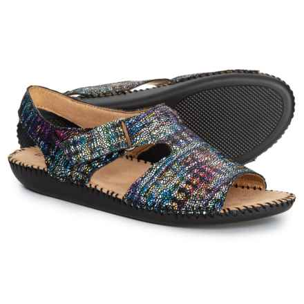 8a3f657075e4 Naturalizer Scout Sandals - Leather (For Women) in Multicolor Rainbow  Crackle