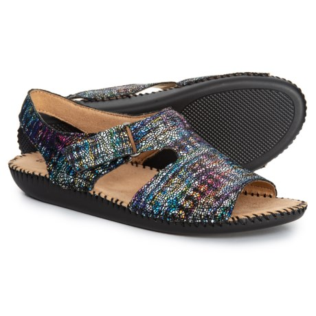 1f5e7163505 Naturalizer Scout Sandals - Leather (For Women) in Multicolor Rainbow  Crackle