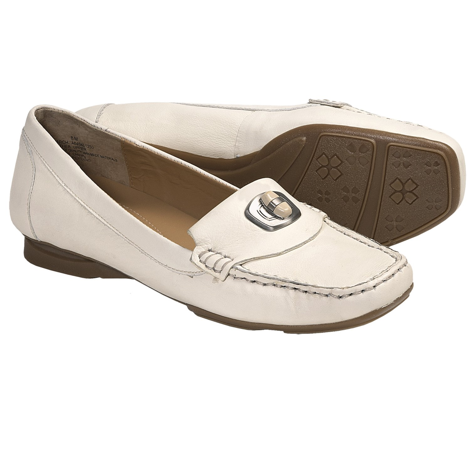 Naturalizer Search Loafer Shoes - Leather (For Women) in Dew