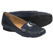 Naturalizer Search Loafer Shoes - Leather (For Women) in Navy - Closeouts
