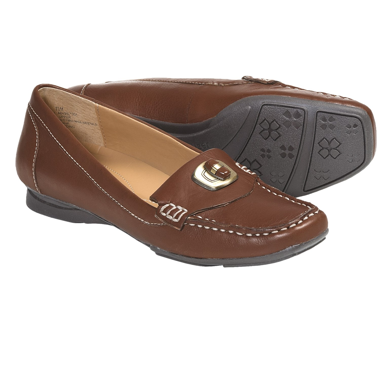 naturalizer search loafer shoes leather for