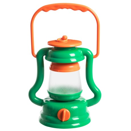 Nature Bound Light 'n' Sound Lantern in Green/Orange